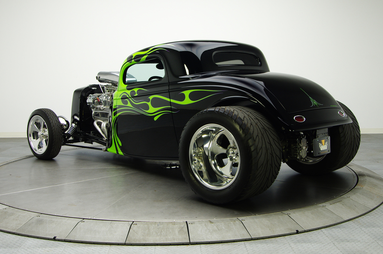 Nice 1934 Ford Coupe hot rod was sold for $100K by RK Motors Charlotte