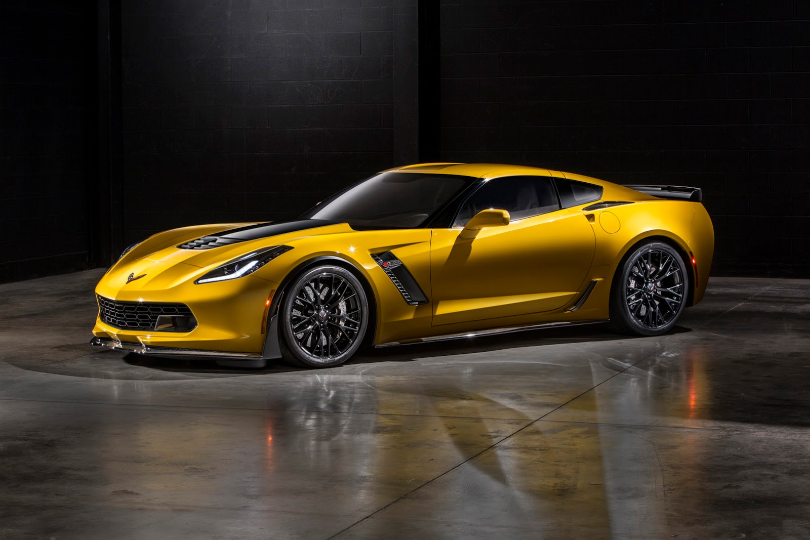 The 2015 Corvette Z06 will deliver unprecedented levels of aerodynamic
