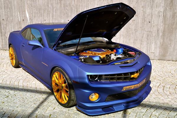 Geiger Cars Blaumatt Gold Camaro Ss Amcarguide Com