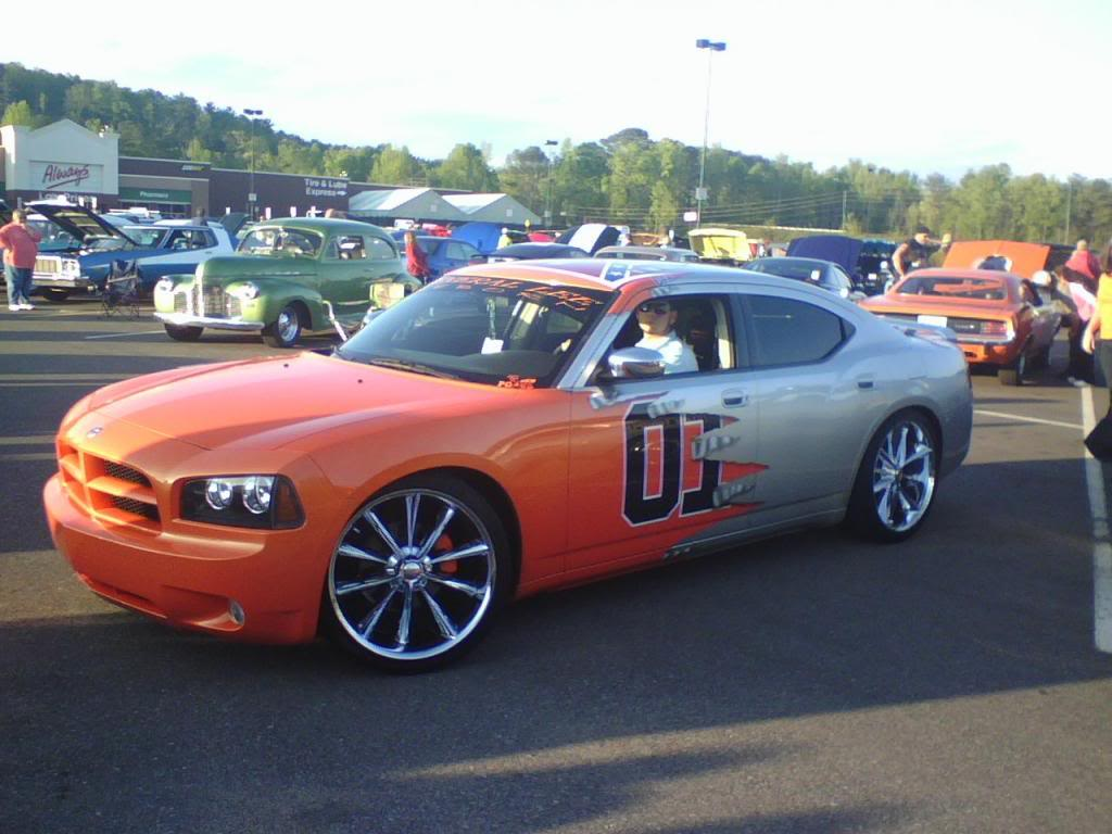 X custom charger general lee 1