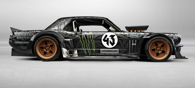 Ken Block S Gymkhana 7 Car Amcarguide Com American Muscle Car Guide