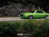 Random snap: green Camaro