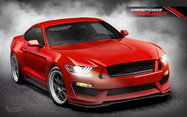 2016 Svt Mustang Gt350 Rendered Amcarguide Com