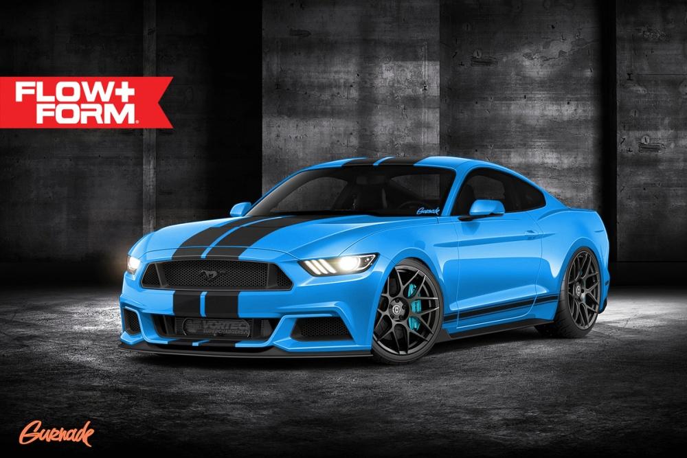 2017 Mustangs Lightning Grabber Blue And White Platnium