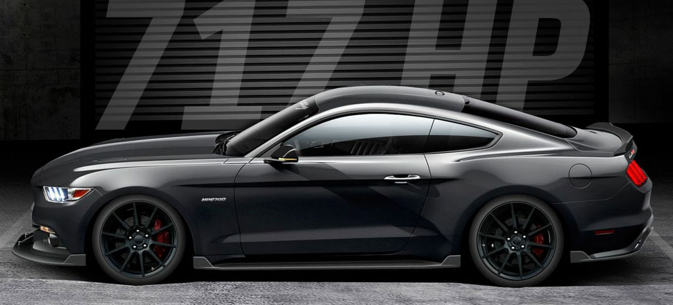 HPE700 Supercharged: 717 HP 2015 Mustang by Hennessey ...