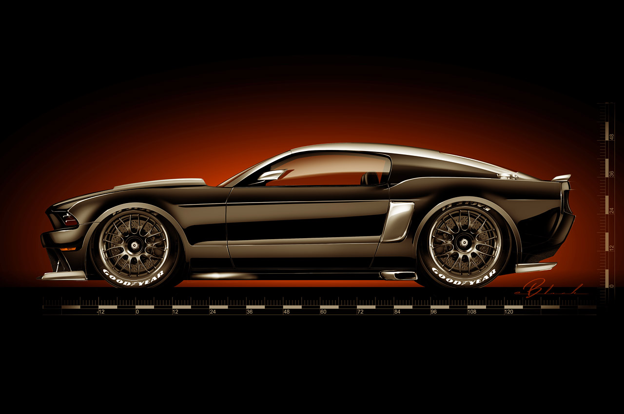 2014 mustang by hollywood hot rods american muscle car guide. Black Bedroom Furniture Sets. Home Design Ideas
