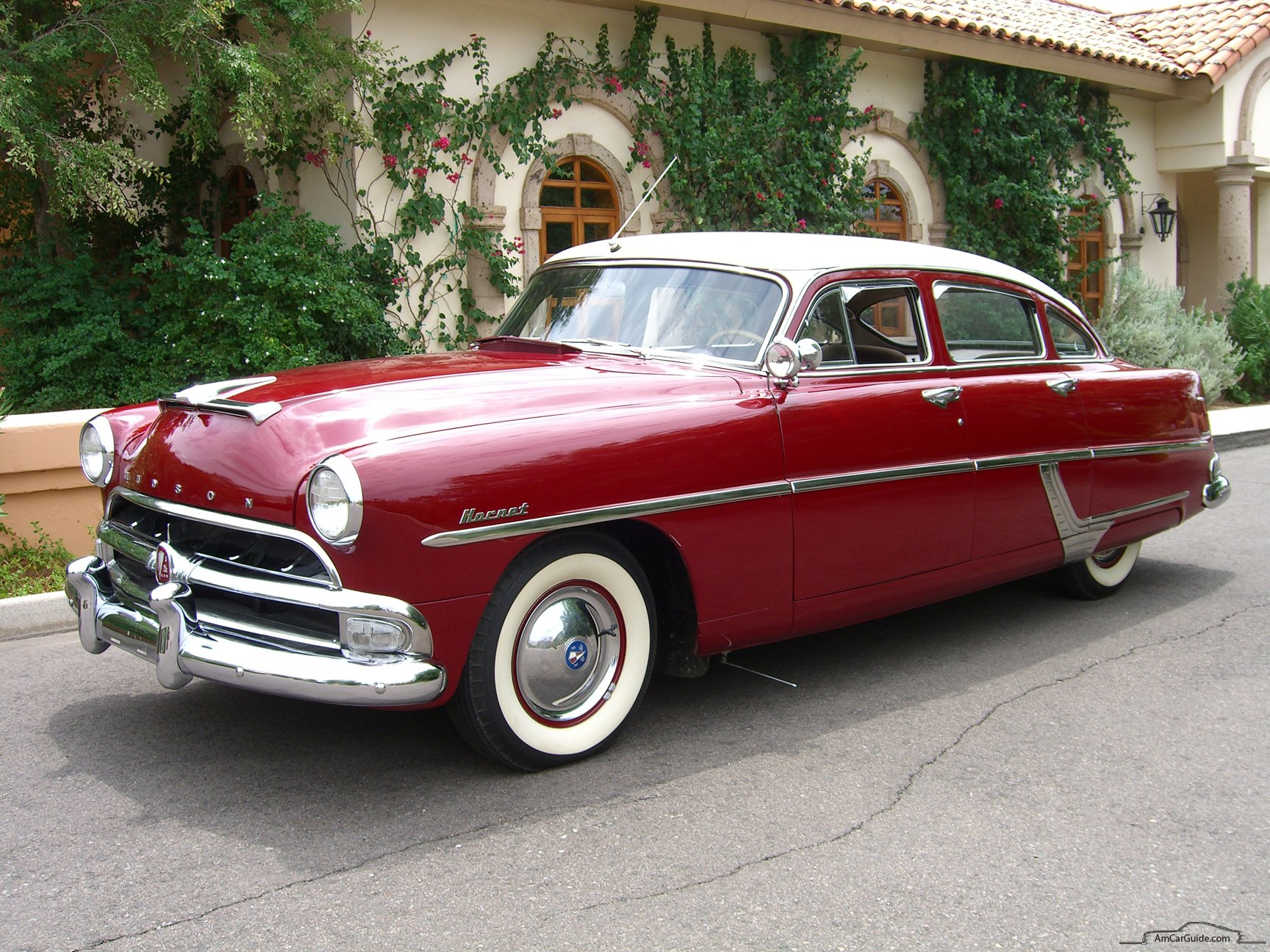 1954 Hudson Hornet 4 Door Sedan Ren Side