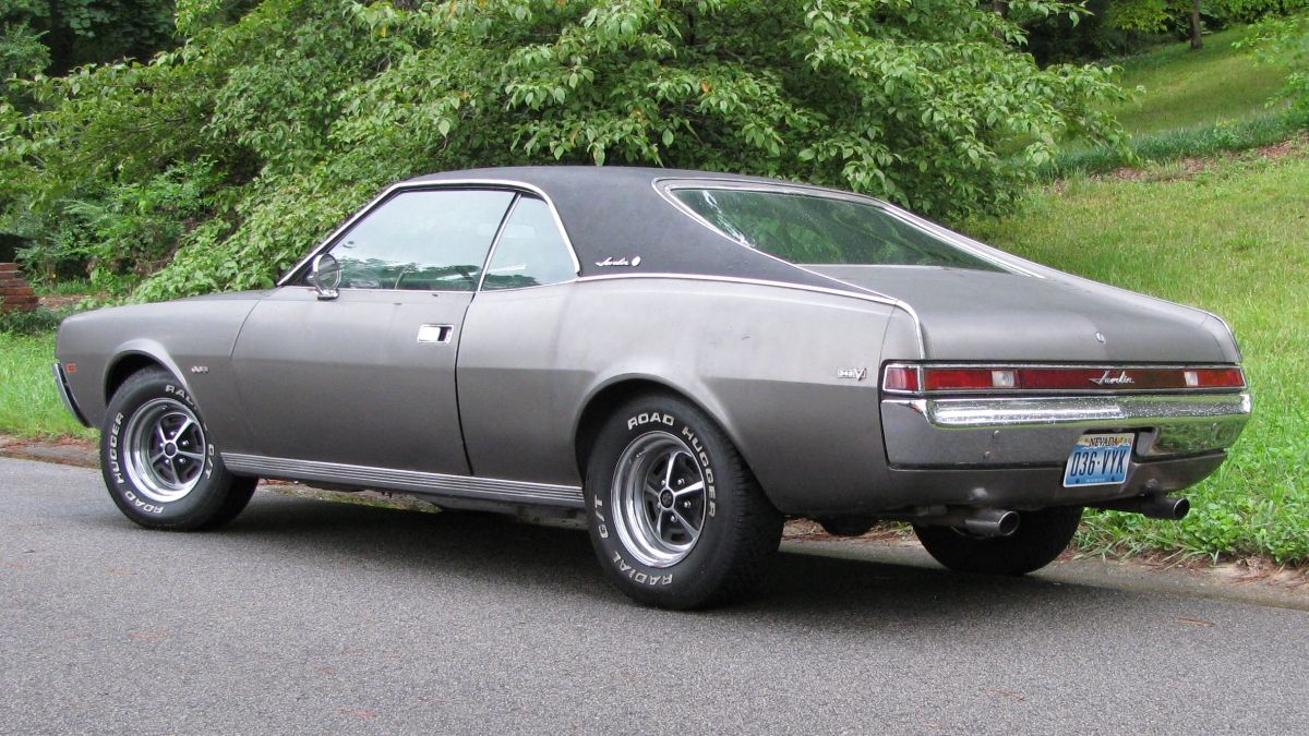 AMC Javelin 1968 1970 1st Generation