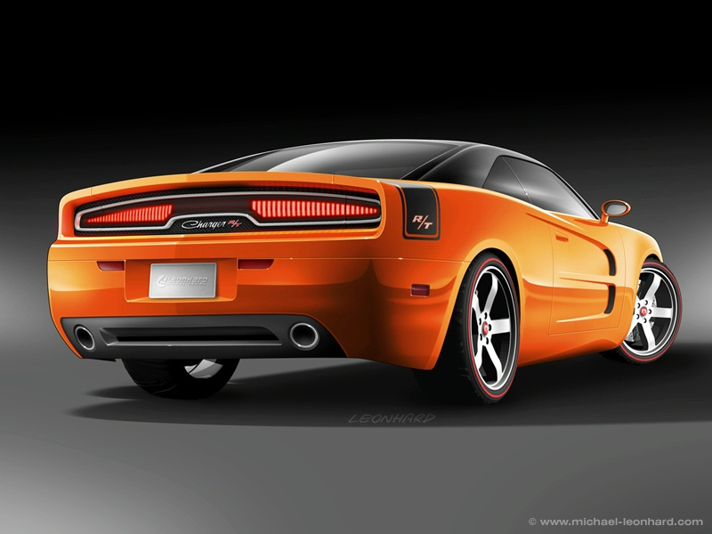 Leonhard S Dodge Charger Concept Amcarguide Com