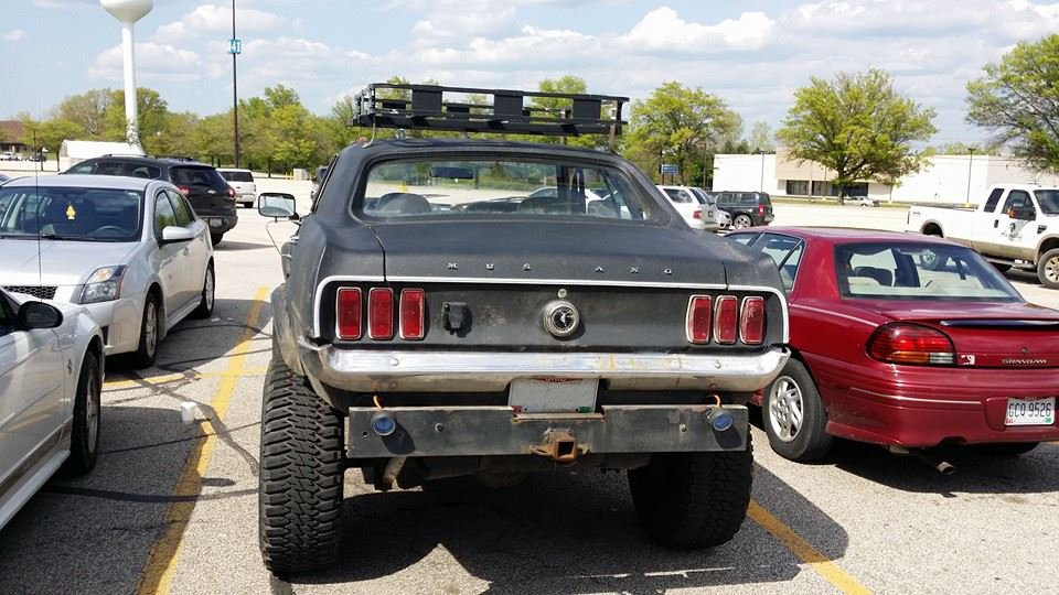Random snap: lifted \'69 | AmcarGuide.com - American muscle car guide