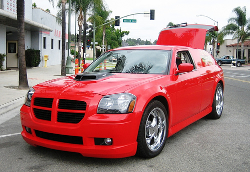 Lil Red Wagon Dodge Magnum Hemi on 1999 Dodge Dakota Sport Specifications