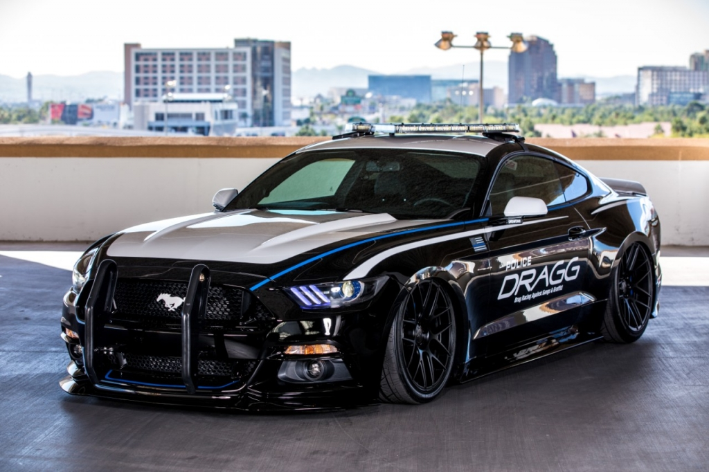Ford sends a squad of custom Mustangs to SEMA | AmcarGuide ...
