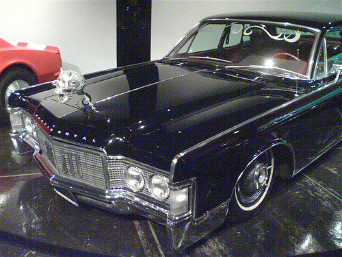 photo of Marilyn Manson 63 Lincoln Continental - car