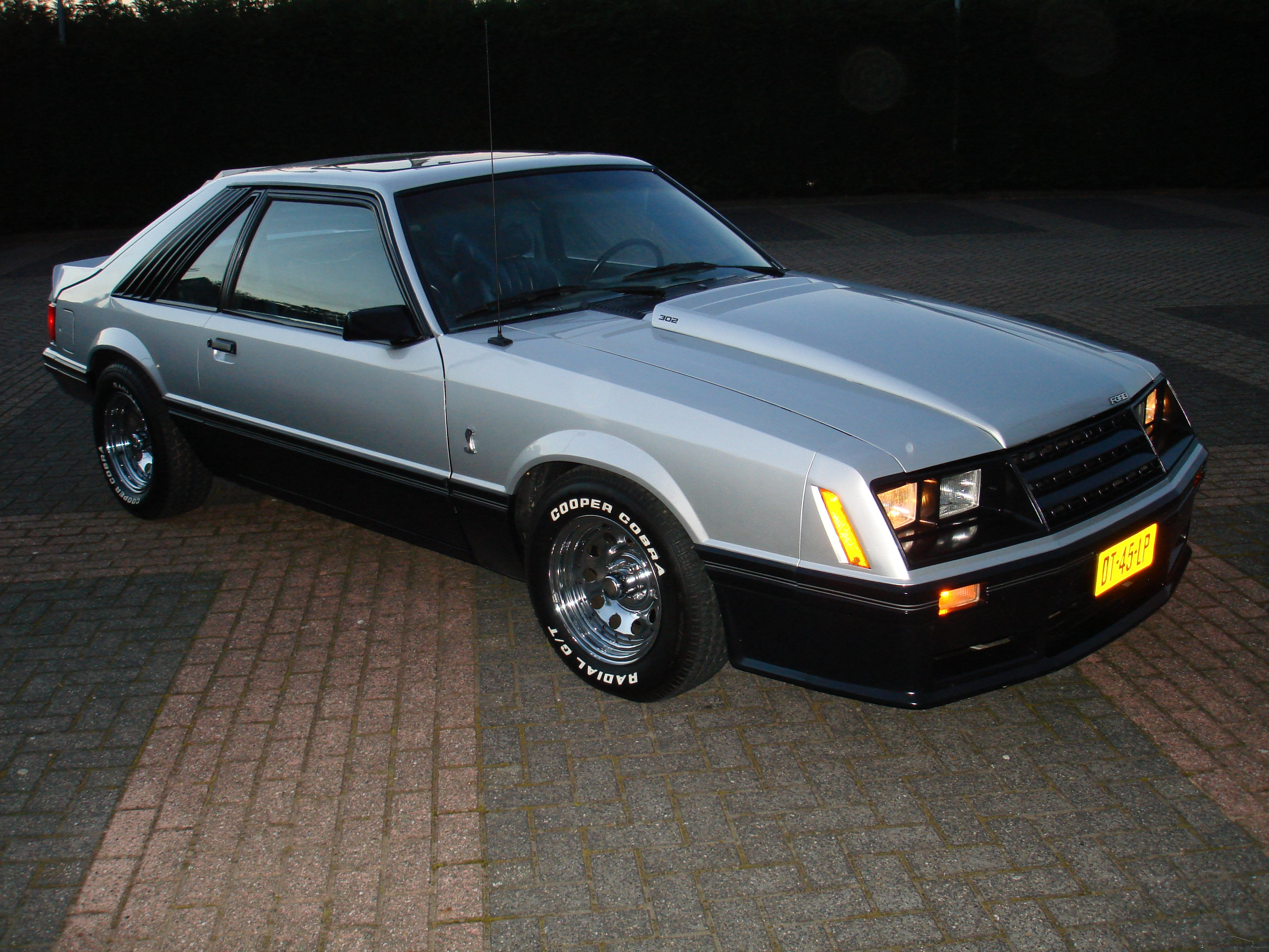 Ford Mustang 1979 1993 3rd Generation