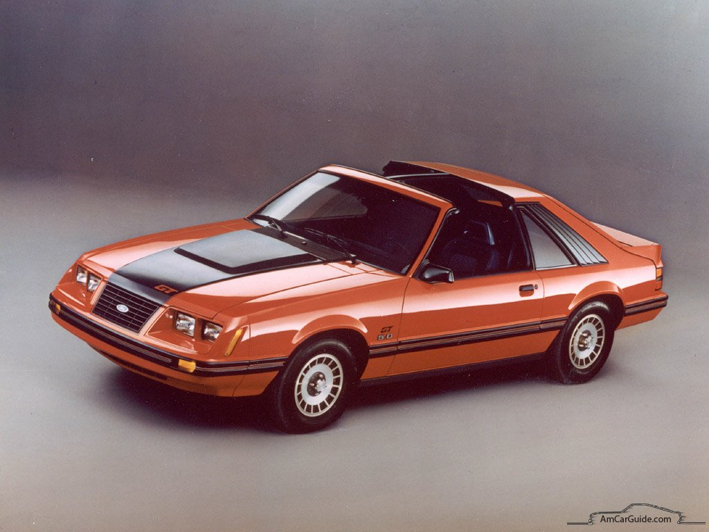 Ford Mustang: 1979-1993,