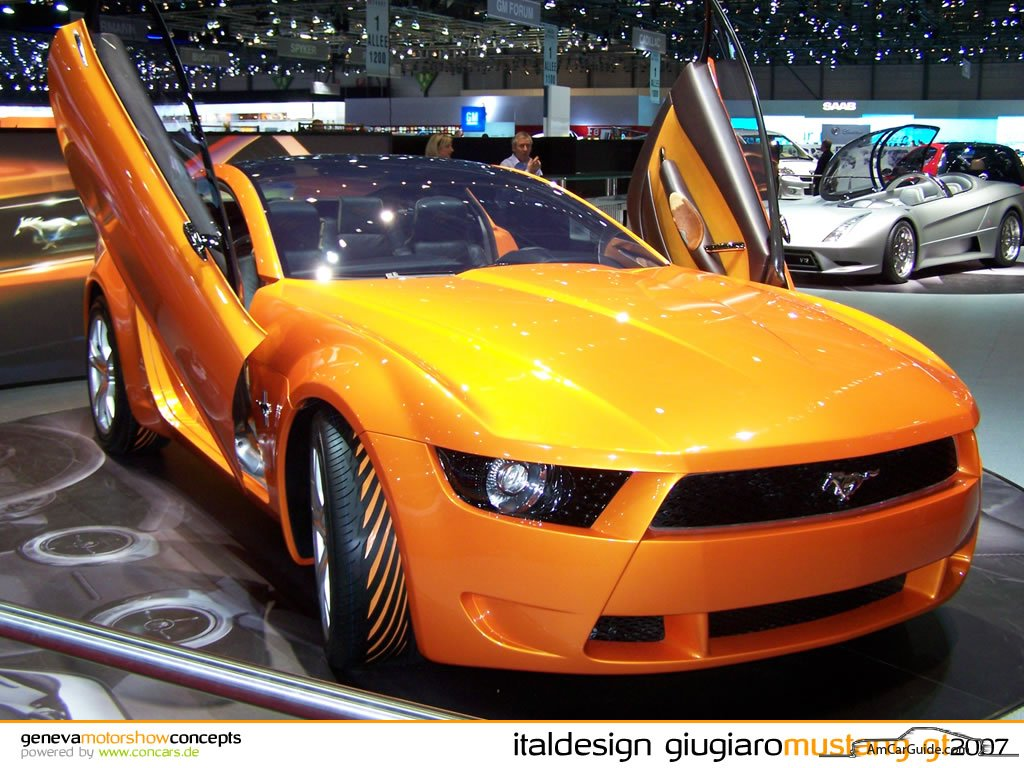 2006 Mustang Concept By Giugiaro Amcarguide Com
