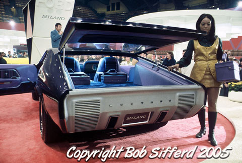 1970 Mustang Milano Concept Amcarguide American Muscle Car Guide