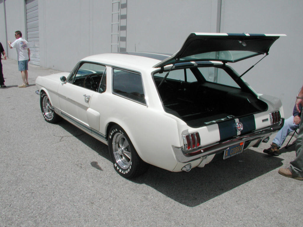 The only wagon Mustang built