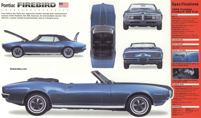 Pontiac Firebird: 1967-1969,