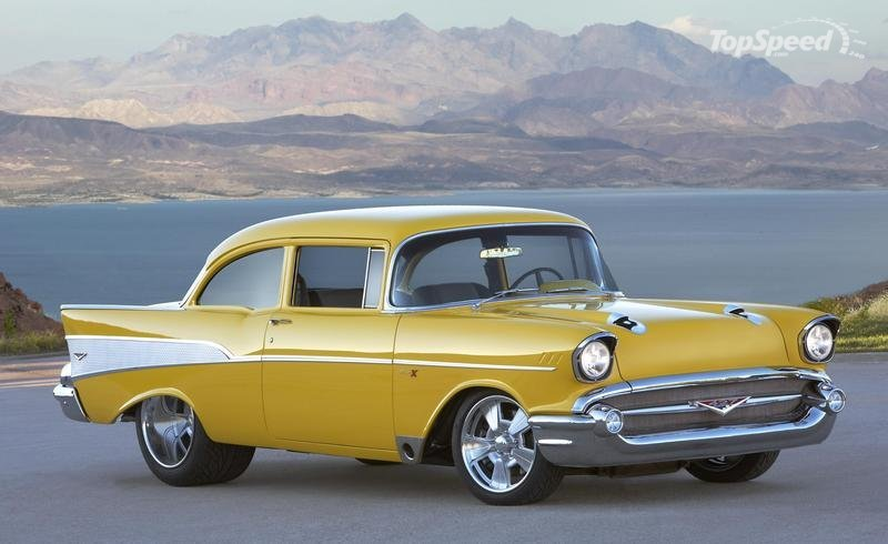 This PROJECT X 1957 Chevrolet Bel Air has faced many more changes ...