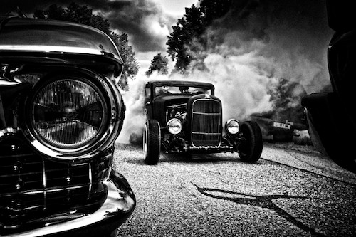 1930 Ford Five Model A Smokin Shutdown S Hot Rod