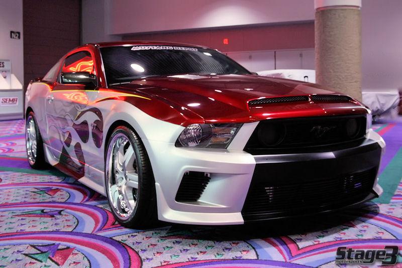 Custom 2010 Mustang Rebellion Amcarguide Com American