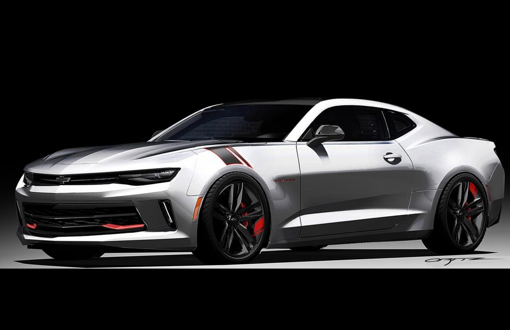 2016 Chevrolet Camaro Red Line Series Concept Amcarguide