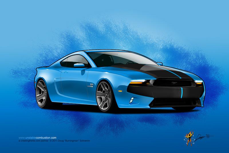 2014 Mustang GT by Doug Schramm