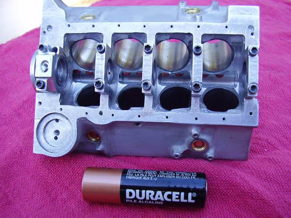 Worlds Smallest Chevrolet 327 V8 Engine Amcarguidecom American