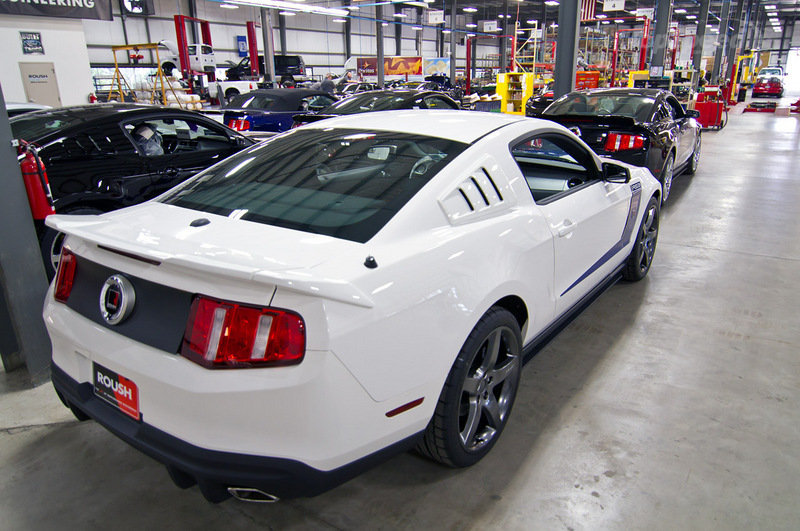 2012 Roush Mustang SR packages | AmcarGuide.com - American muscle ...