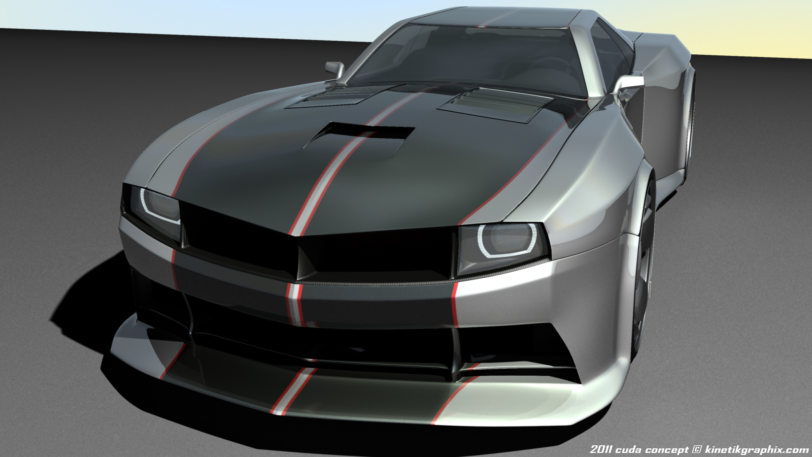 2015 SRT Barracuda Concept