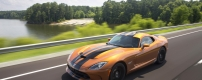 "2015 Dodge Viper GTC painted in custom ""1 of 1"" exterior col"