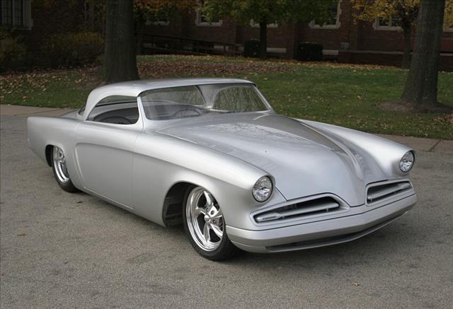 Custom 1948 Studebaker Street Rod | Car Interior Design