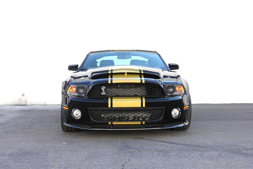 2012 shelby super snake 50th anniversary black 03 - 2011 Ford Mustang Shelby Gt500 With Shelby Super Snake Package