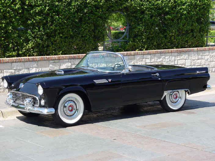 Ford Thunderbird: 1955-1957, 1st generation