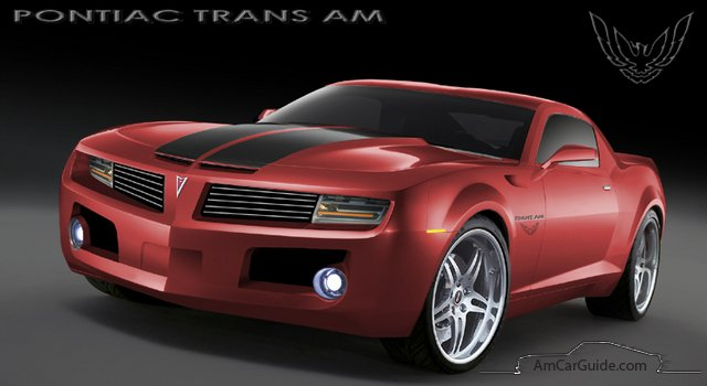 What if you modded a new Camaro to be the new 2012 Pontiac