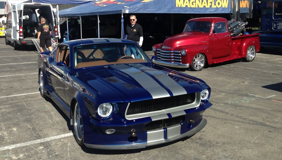 Custom 1967 Mustang by TCI Engineering and Magnaflow   AmcarGuide