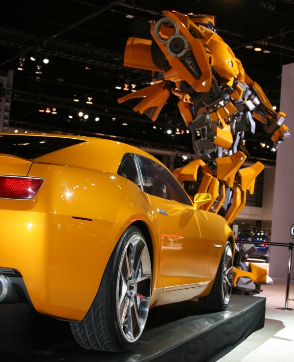 Bumblebee Car Transformers Movie