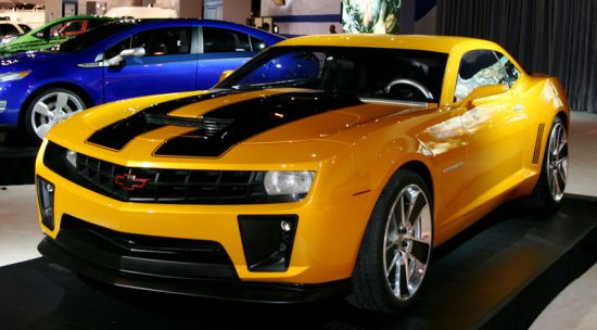 chevrolet camaro transformers  special edition amcarguidecom american muscle car guide