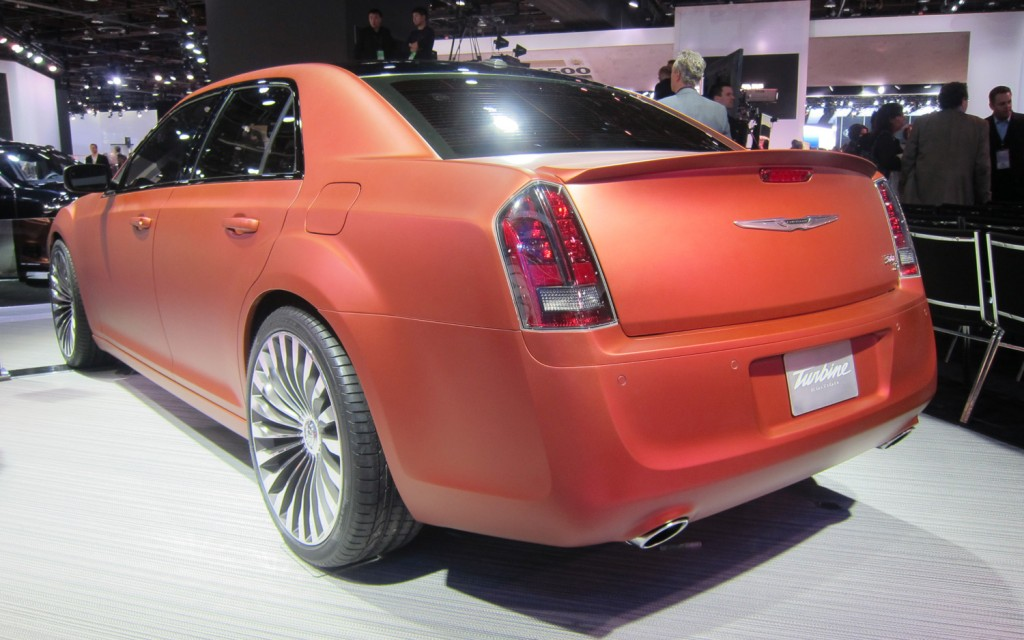 Chrysler Turbine Edition on New Lincoln Continental Car