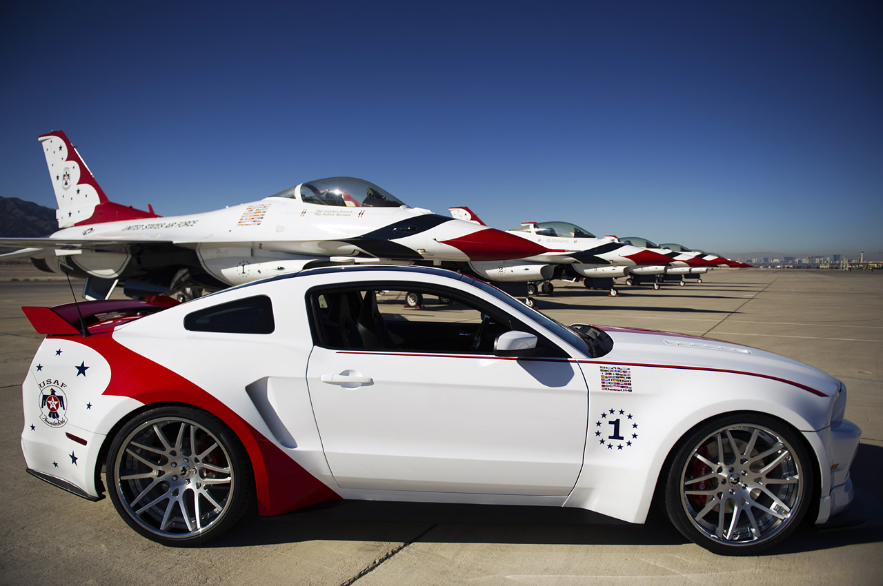 usaf thunderbirds edition 2014 mustang gt american muscle car guide. Black Bedroom Furniture Sets. Home Design Ideas
