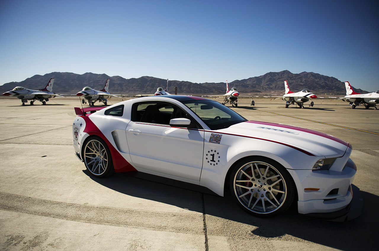 2011 ford gt40 for sale - Usaf Thunderbirds Edition 2014 Mustang Gt Amcarguide Com