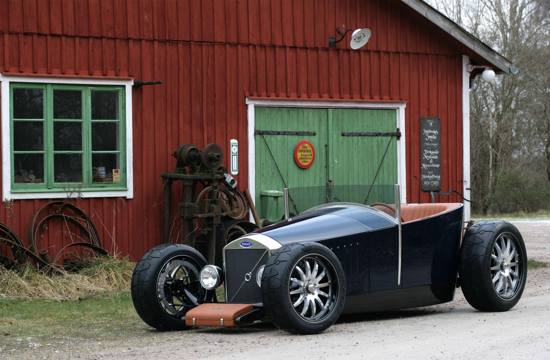 Volvo Hotrods Caresto V8 Speedster And Jakob Amcarguide