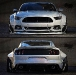 Wide body 2015 Mustang by Rob Evans Design