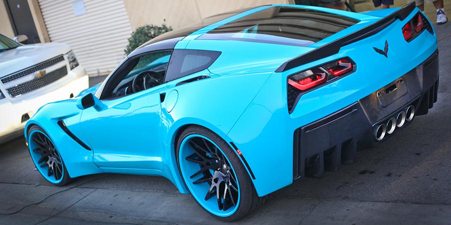 Wide Body Corvette C7 By Forgiato Amcarguide Com