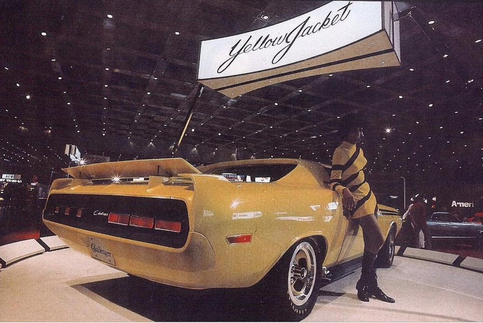 Dodge Yellow Jacket Concept on 1969 Dodge Challenger