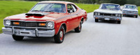 Short muscle car history