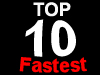 Top 10 fastest muscle cars