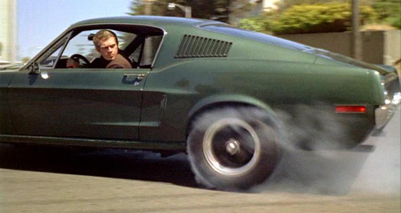 Mustang Hard Top 1969 >> Top 10 movie muscle cars | AmcarGuide.com - American muscle car guide