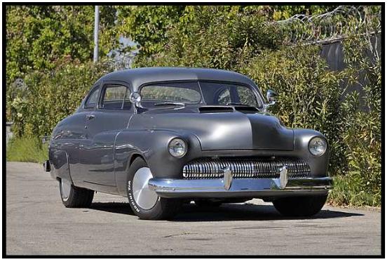 "Cobretti's custom 1950 Mercury Monterey from ""Cobra"", 1986"